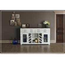 4 Drawer & 2 Doors Console