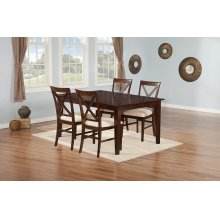 Shaker 36 x 48 Dining Set Walnut
