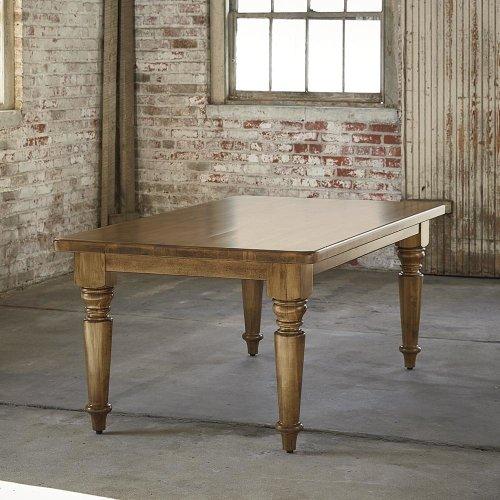 "Bench*Made Maple 90"" Farmhouse Table"