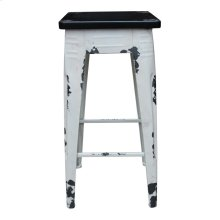 Sturdy Counter Stool White