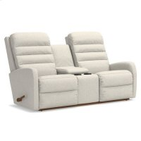 Forum Wall Reclining Loveseat w/ Console Product Image
