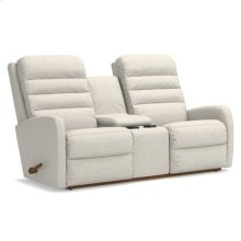 Forum Wall Reclining Loveseat w/ Console