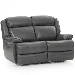 Avalon Dual Power Reclining Love Seat