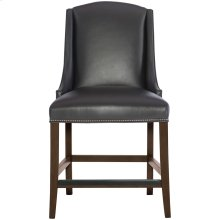 Slope Leather Counter Stool in Cocoa