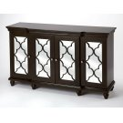 Versatility that is making a style statement within this mirrored sideboard. The beautifully cut fretwork adorned over the mirror paneled doors simply capture the eye. The multi dimensional design of the surface trim offers a taste of distinction and app Product Image