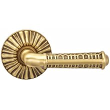 Interior Ornate Lever Latchset in BAS (Siena Brass, Lacquered)