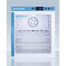 Performance Series Pharma-vac 1 CU.FT. Compact Glass Door All-refrigerator for Vaccine Storage