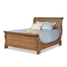 Queen Master Sleigh Bed