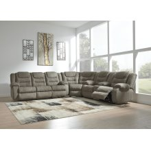 McCade - Cobblestone 3 Piece Sectional