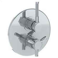 Wall Mounted Thermostatic Shower Trim With Built-in Control, 7 1/2""
