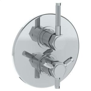 """Wall Mounted Thermostatic Shower Trim With Built-in Control, 7 1/2"""" Product Image"""