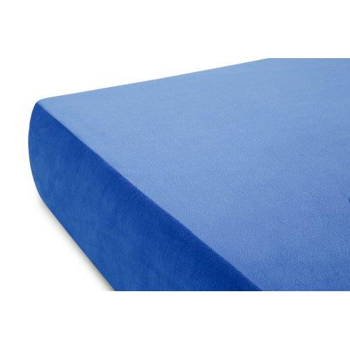 Brighton Bed Youth Gel Memory Foam Mattress Twin Blue