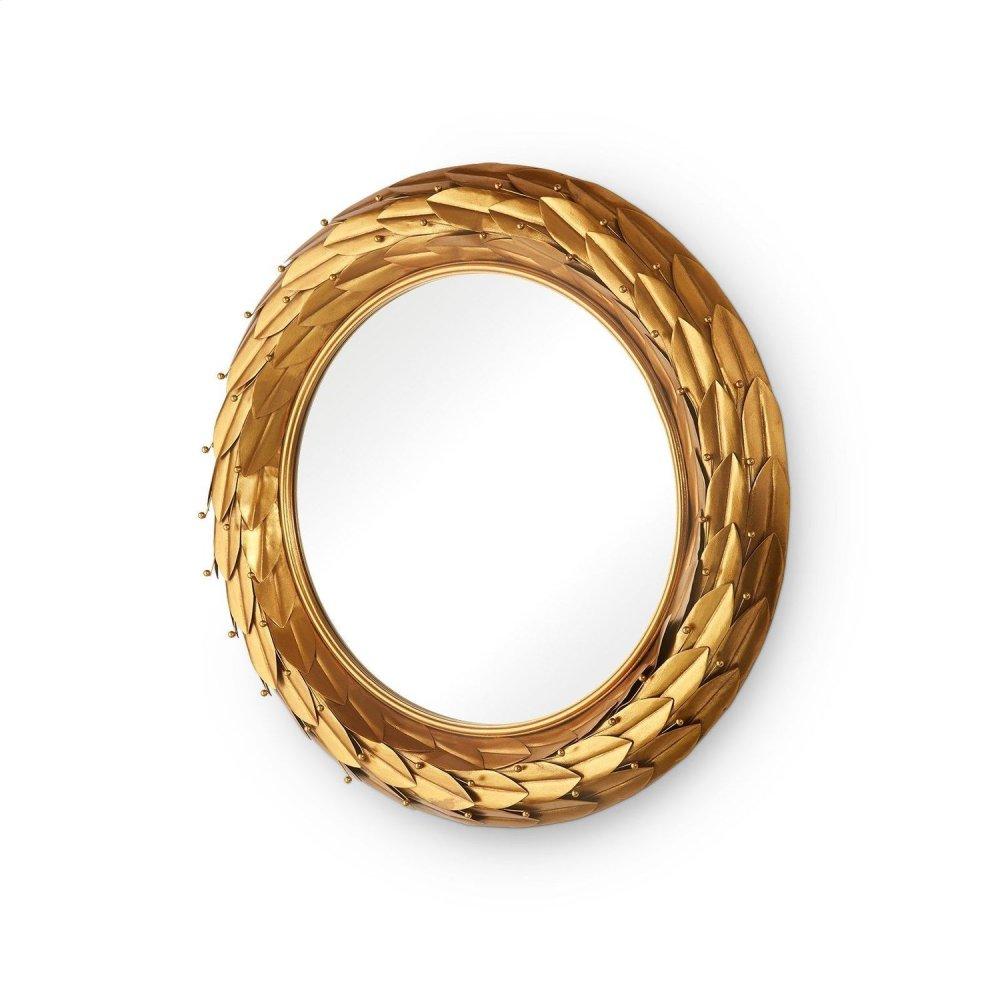 Athena Mirror, Gold