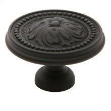 Oil-Rubbed Bronze Ornamental Knob
