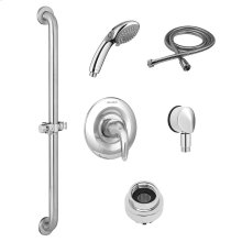 Commercial Shower System with Hand Shower for Flash Rough Valve - 1.5 GPM  American Standard - Polished Chrome
