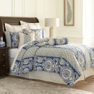 9pc Queen Comforter Set Cadet Product Image