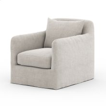 Stone Grey Cover Dade Outdoor Swivel Chair