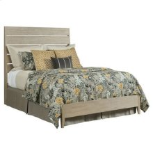 Symmetry Incline King Oak Low Bed