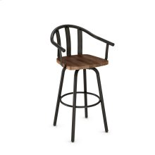 Gatlin Swivel Stool (wood)