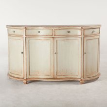 "Library Sideboard 63"" Antique Light Green"
