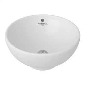 White Perrin & Rowe Vessel Sink Product Image
