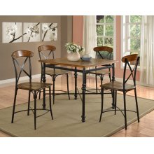 Esther Square Counter Height Pub Table