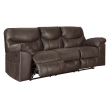 3380388 Grey PWR Reclining Sofa Only (Boxberg Teak)