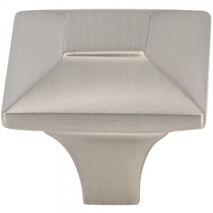 Alston Knob 1 3/16 Inch Brushed Satin Nickel Product Image
