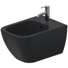Bidet Wall-mounted, Anthracite Matte
