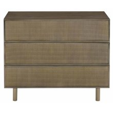 Profile Nightstand in Warm Taupe (378)