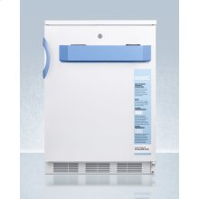 Built-in Undercounter Auto Defrost Medical/scientific All-refrigerator With Front Control Panel Equipped With A Digital Thermostat and Nist Calibrated Thermometer/alarm; Includes Front Lock, Hospital Grade Cord, and Internal Fan