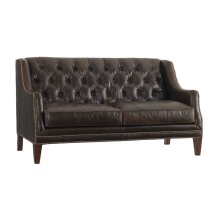 Sloane Leather Settee