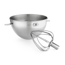 3-Qt. Stainless Steel Bowl & Combi-Whip Stainless Steel