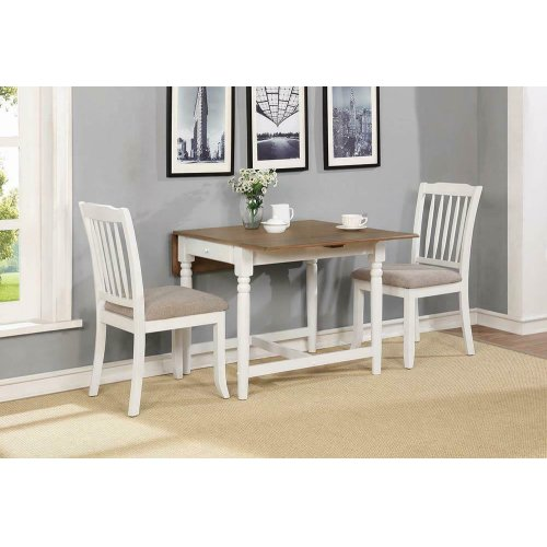 Hesperia Cottage White Side Chair