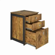 Estrella Industrial Antique Nutmeg File Cabinet Product Image