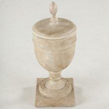 Maison Decorative Antique White Jar