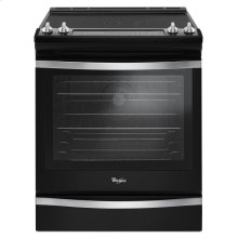 6.4 Cu. Ft. Slide-In Electric Range with True Convection Black Ice