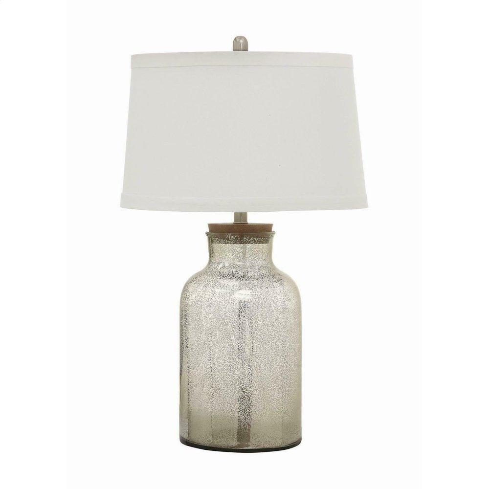 Antique Mercury Speckled Table Lamp