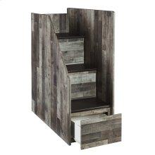 Left Storage Steps w/Loft Ends