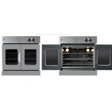 Residential Wall Oven, French Door Wall Oven , Gray Color