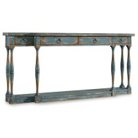 Living Room Sanctuary Four-Drawer Thin Console Product Image