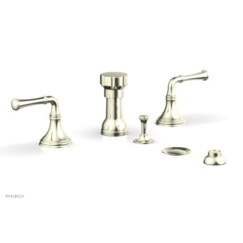 3RING Four Hole Bidet Set D4205 - Burnished Nickel