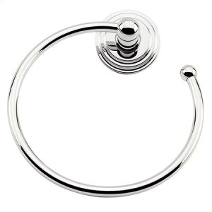 Oil Rubbed Bronze - Hand Relieved Towel Ring - Open Product Image