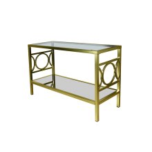 Augustine Gold Sofa Table