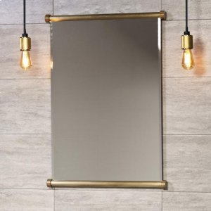 Elemental Mirror Aged Brass Unlaquered Product Image