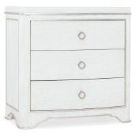 Bedroom Modern Romance Three-Drawer Nightstand Product Image