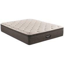 SIMMONS Beautyrest Silver Bold Pillow Top Plush Mattress Only
