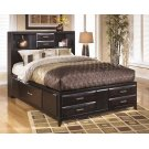 Kira - Almost Black 3 Piece Bed Set (Queen) Product Image