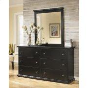 Maribel - Black 2 Piece Bedroom Set Product Image