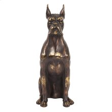 Bronze Guard Dog Sculpture